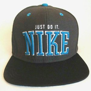 Nike Just Do It Snapback Throwback Hat
